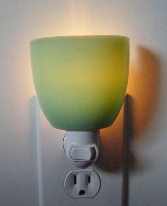 Gibson Designs Reproduction Jadeite Glass Tea Cup Night Light No Handle