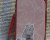 ACEO Storage Tin Lunchbox  Cat and Kitten