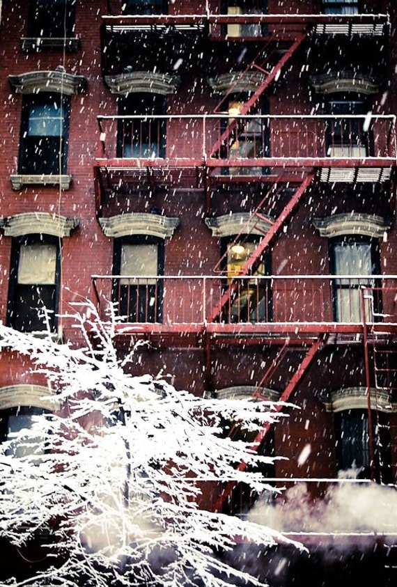 Manhattan Winter Fine Art Photographic Print 8x10