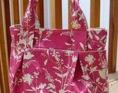Weekend Tote - Joel Dewberry Wildflowers in Pink