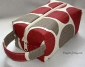 Abstract Floral Box Bag