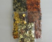 CLOSING SHOP SALE Craft Sequins Fall Mix