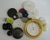 CLOSING SHOP SALE Vintage Button Mix various