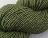 SALE New Merino Wool Silk Blend Yarn - Verde Salvia
