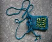 Turquoise Amulet Bag