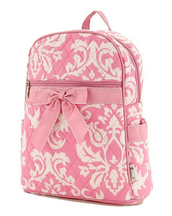 Mackenzie Aqua Sporty Girls Backpacks Free & Fast Shipping ; Personalization Some of the most popular backpacks come with personalized monograms and matching lunchboxes so kids can be perfectly coordinated in the classroom and beyond. It's also important to shop backpacks by size. Typically, kids' backpacks are available in a range of sizes.