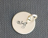 """Charm- A la Carte - 3/8"""" or 1/2"""" or 5/8""""  or 6/8"""" Heart -Customizable, Personalized, Custom"""