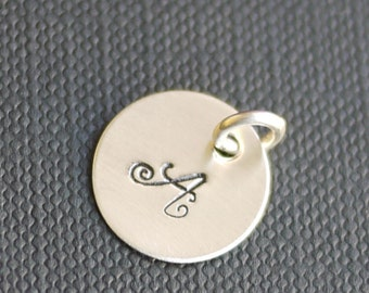 "Charm- A la Carte - 3/8"" or 1/2"" or 5/8""  or 6/8"" Heart -Customizable, Personalized, Custom"