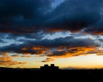 Bogota Sky color photo print