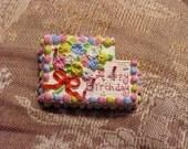 Birthday Brooch