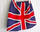 Union Jack Flag Skirt - Sizes 2T, 3, 4, 5, 6, 7 - As seen in Cool Mom Picks British Flag Skirt English Flag Skirt UK Flag Skirt Girls Skirt