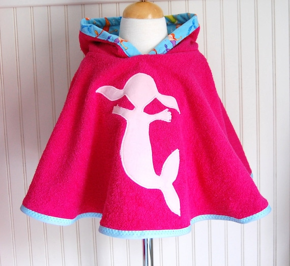 Mermaid Swimsuit Cover Up by The Trendy Tot
