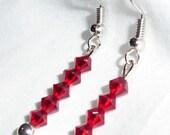 SALE --- Red Hot Crystals  ---SWAROVSKI---