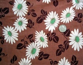 1930's Vintage Cotton Fabric 4 yards Daisies