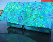 Coupon Organizer Purse Receipt Holder Magic in Colors Fabric