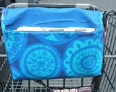 Waterproof Coupon and Purse Organizer Medallions in Blue