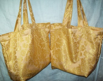 Fabric Grocery Bags and Carry All Totes