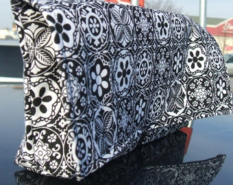 Coupon Holder, Coupon Organizer, Coupon Purse, Mandala Black and White