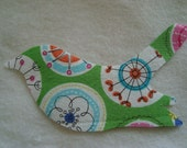 NO SEW Iron On Bird Applique