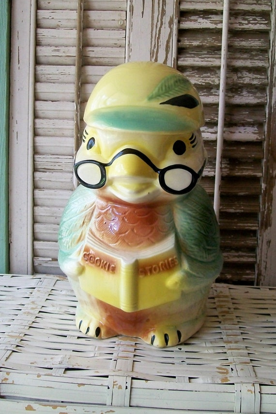Super Cute Robinson Ransbottom Hootie Owl Cookie Jar