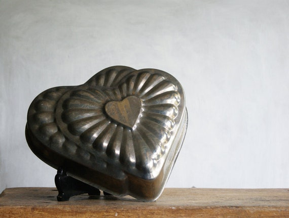 Heart Cake Pan with Double Heart