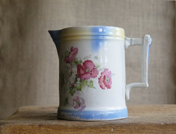 Antique Porcelain Pitcher