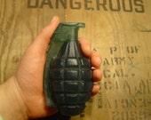 Spice Bomb Army green hand grenade soap: home of the original hand grenade
