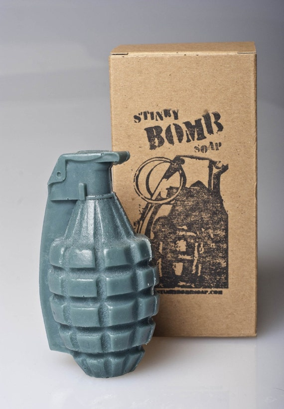 Spice Bomb - Army Green Hand Grenade Soap