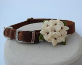 Hydrangea dog collar corsage