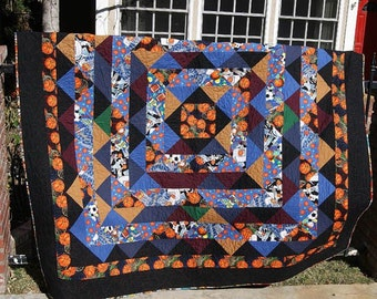 SALE - March Madness Basketball Quilt