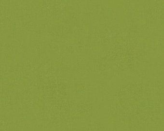 SALE - Organic Solid Olive Pure Organic Cotton from Robert Kaufman- Half Yard