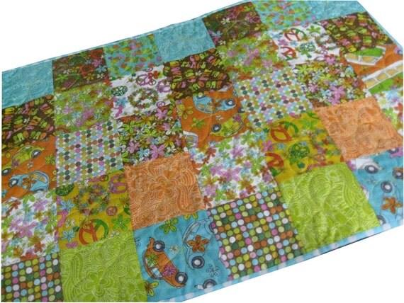 Baby Quilt Groovy Fabrics