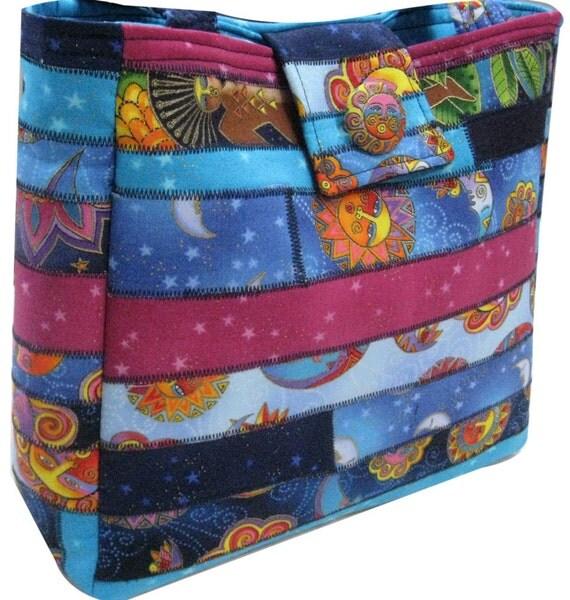 Purse in Laurel Burch Fabrics