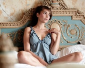 Organic Cotton & Soy Lingerie set  - Babydoll and Panty- Organic Cotton and Soy set/ pyjama/ pajamas/ sexy lingerie/ honeymoon lingerie
