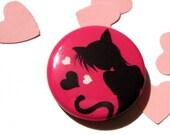 Pinback Button - Sweet Catgirl