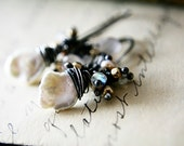 June Birthstone Seaside Earrings Wedding Pearl Dangle