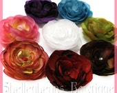 Jeweled Ranunculus Flower Clippy - Many Colors - FREE SHIPPING see shop for details