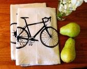Screen Printed 10 Speed Bike Bar Towel Set of Two