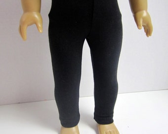 American Girl 18inch Doll Basic Leggings in Black by Crazy For Hue