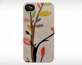 iPhone 4S & 4 Case - case for iphone 4 - iphone 4s case - iphone case - Iphone 4 - Tree Flowers