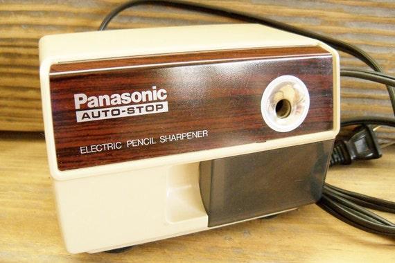 Electric Pencil Sharpener Panasonic AutoStop KP110 1970s