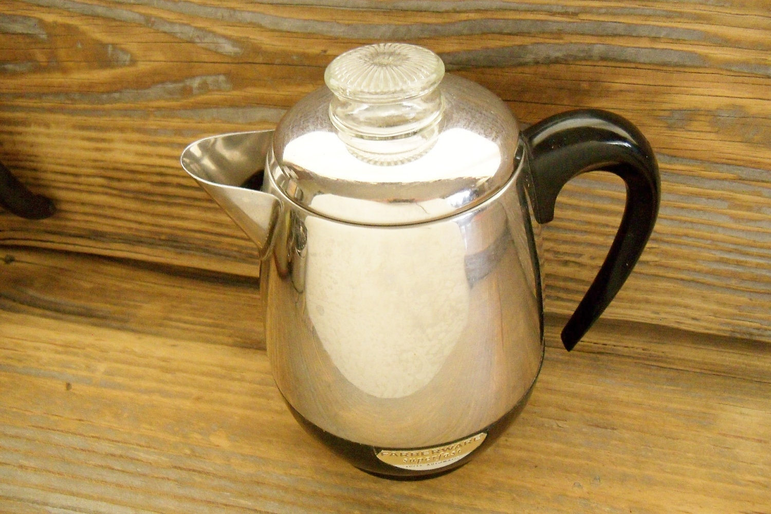Farberware Coffee Pot SuperFast Percolator Model No 134 1970s