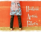 Women's Hostess Apron by Everyday Chic PDF Pattern Tutorial