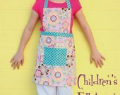 Children's Full Apron by Everyday Chic PDF Pattern Tutorial