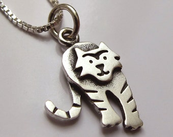 Tiny tiger necklace / pendant