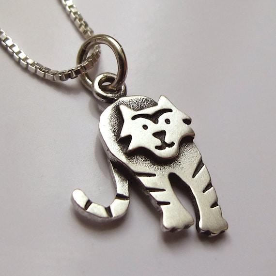 Tiny tiger necklace / pendant