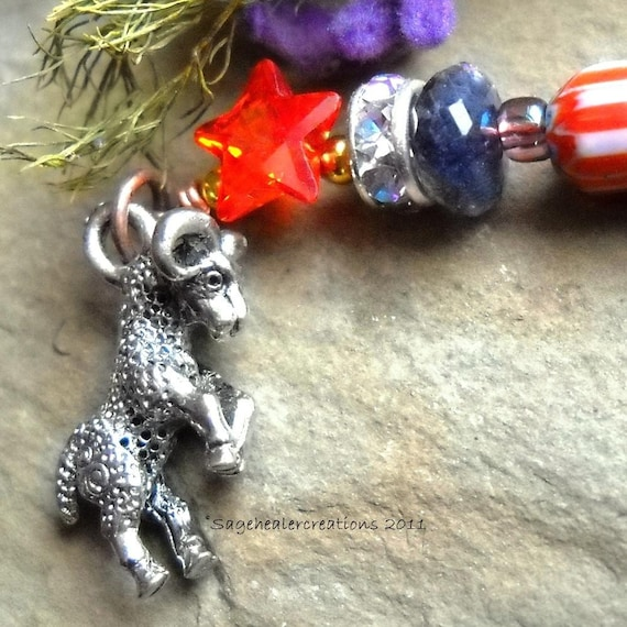 Ram (Big Horn Sheep) Totem - Imagination, Power, Energy, Creativity, New Path OOAK Talisman Handmade by Sagehealer on Etsy