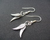 Percy Jackson the Lightning Thief Wings of Hermes Earrings