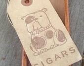 Bulldog Cigar Box Set