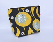Insulated Lunch Bag Little Zip Eco Friendly Sunshine Small Lunch Bag Cosmetic Bag by BonTonsGifts on Etsy